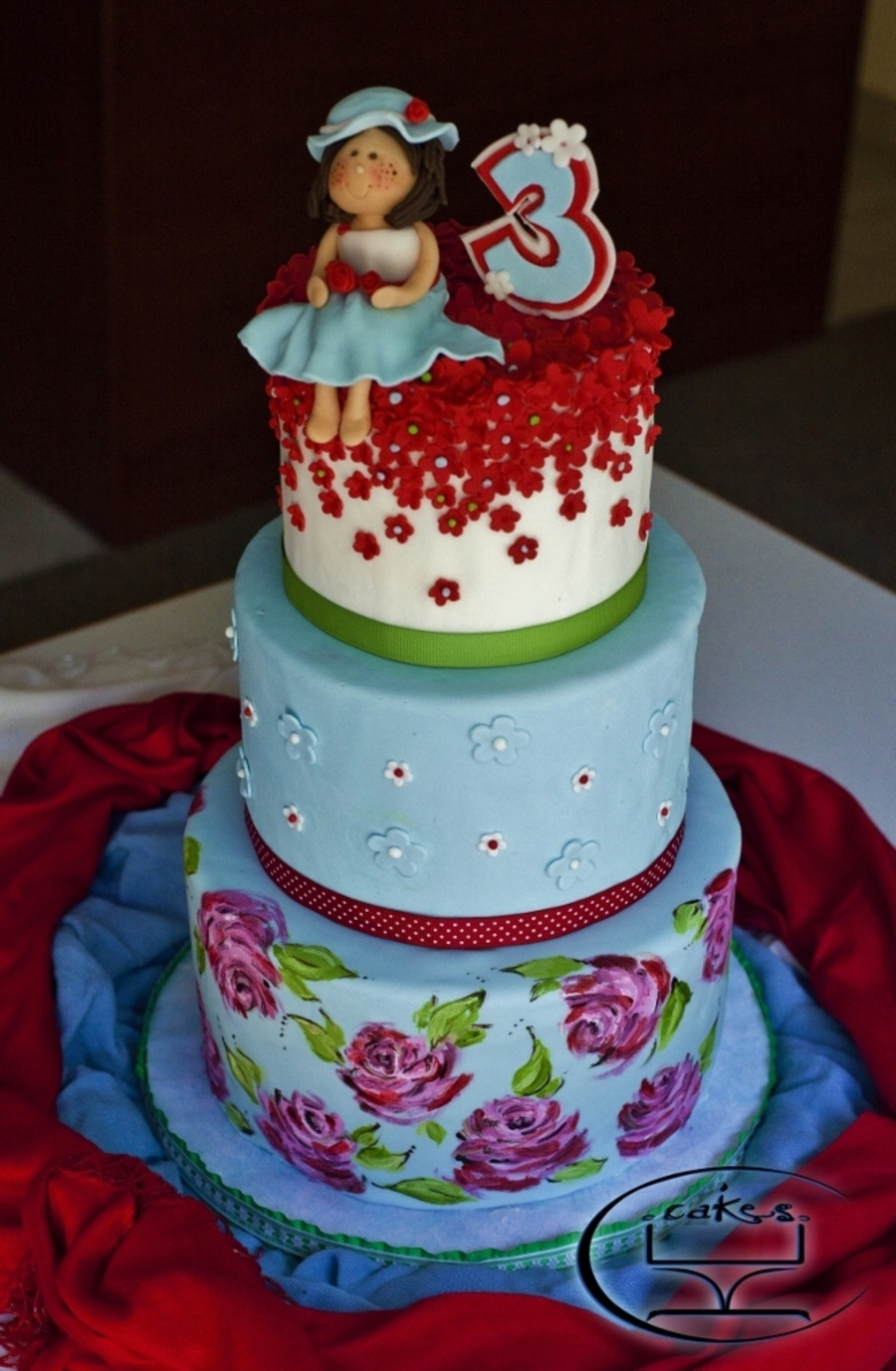 Birthday Cakes For Girls Turning 9