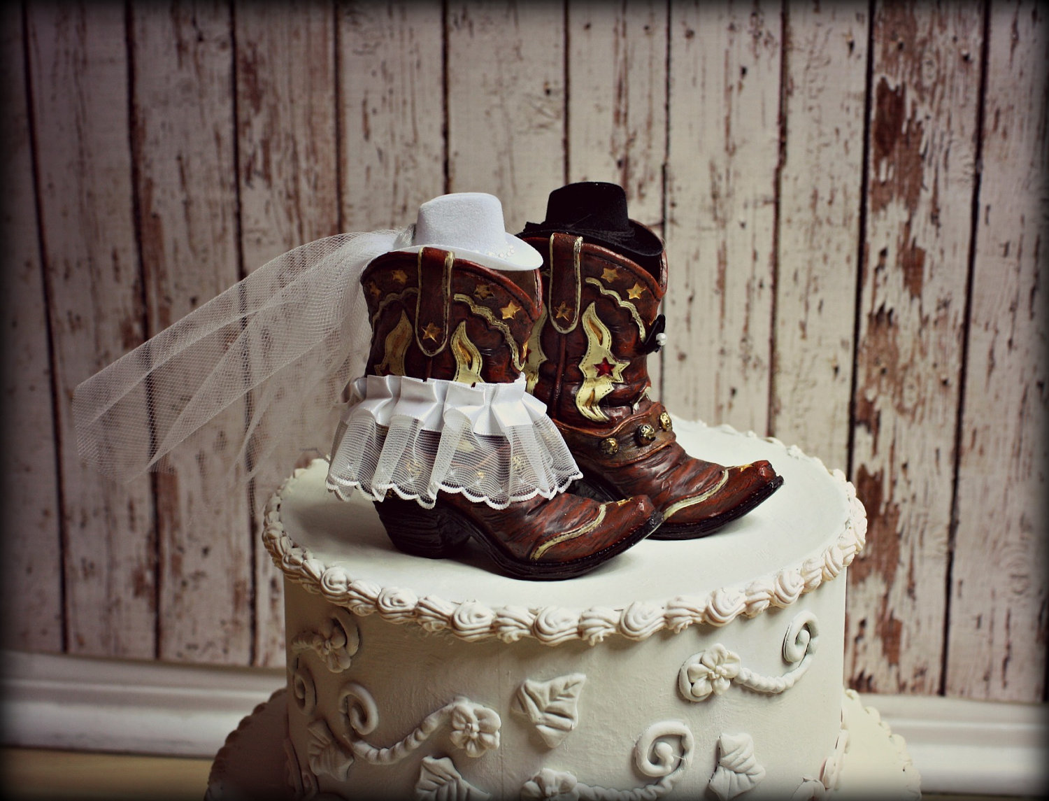 Western Theme Wedding Cake Toppers - 5000+ Simple Wedding Cakes