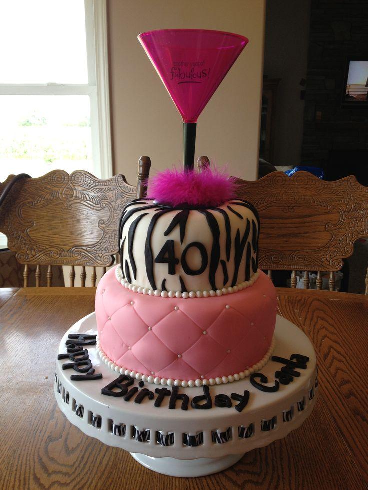 13 Happy 40th Bday Cakes Photo