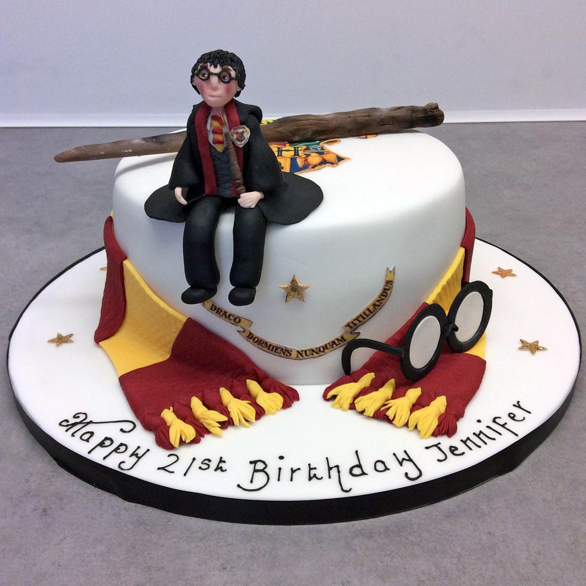 13 Birthday Cakes For Men Named Harry Photo Potter