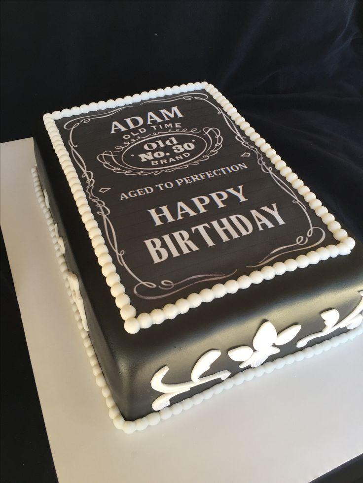 Jack Daniels Birthday Cake Ideas
