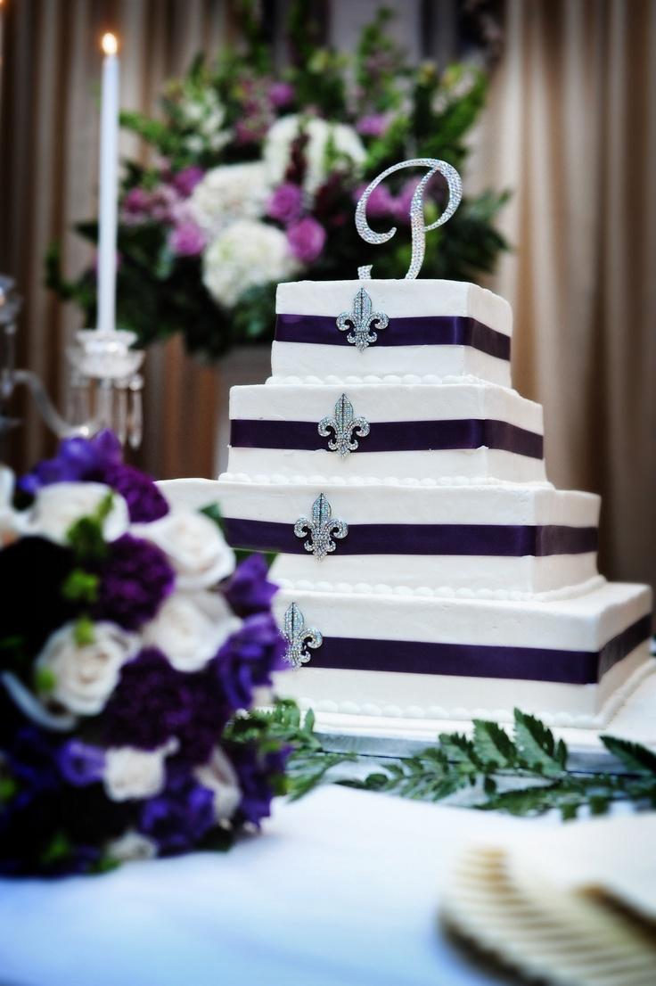 New Orleans Style Wedding Cake