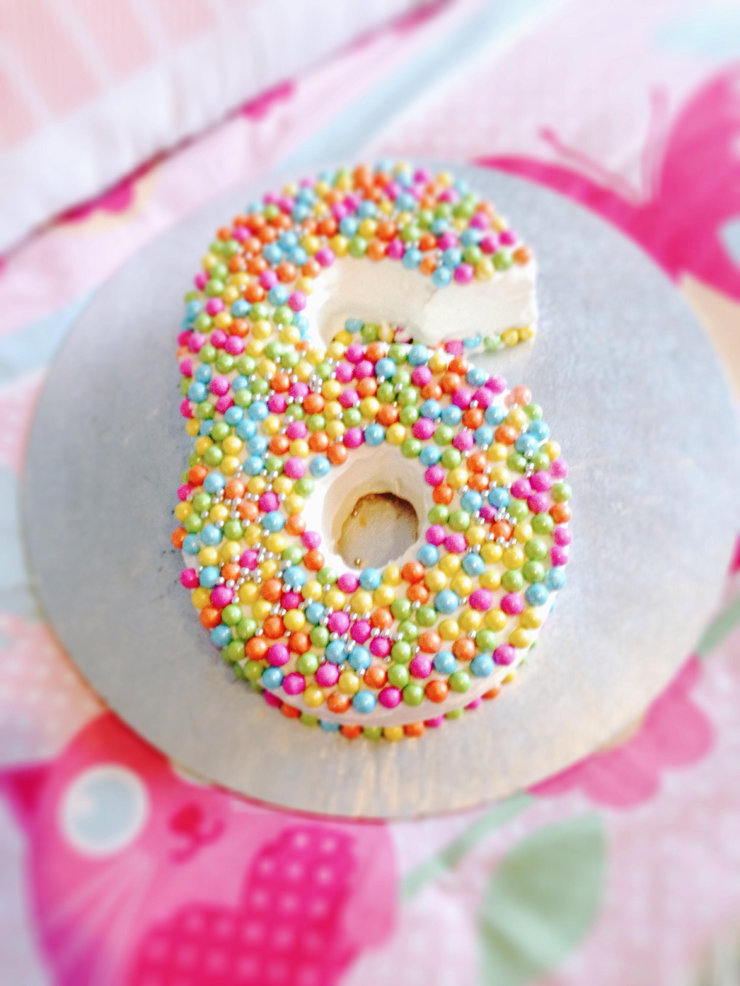 11 6 Girls Cakes Photo Girls Birthday Cake Number 6 Birthday