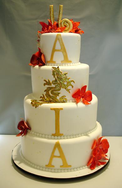 Marvelous 8 Asian Sweet Sixteen Cakes Photo Sweet 16 Birthday Cake Asian Funny Birthday Cards Online Elaedamsfinfo