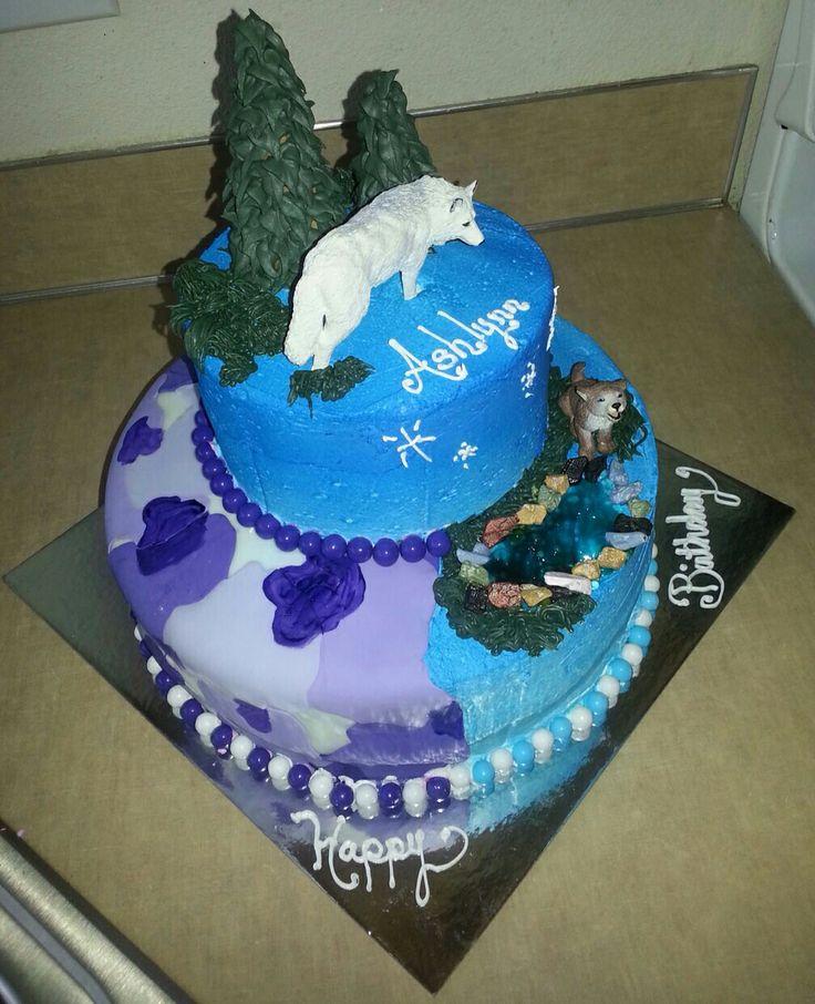 11 Wolf Cakes For Girls Photo Wolf Birthday Cake Wolf Birthday