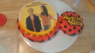 Austin And Ally Birthday Cakes