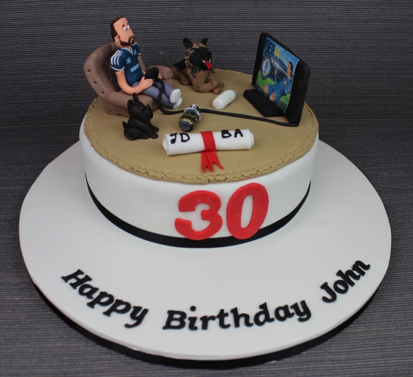 Superb 8 Birthday Cakes For Guys Who Play Video Games Photo Game Funny Birthday Cards Online Hendilapandamsfinfo