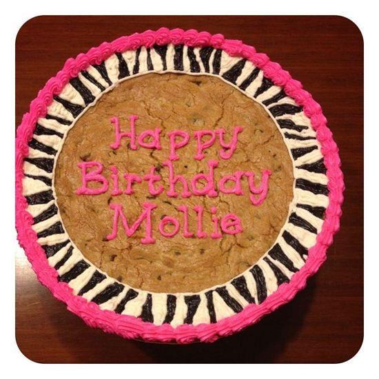 Birthday Cookie Cake Designs