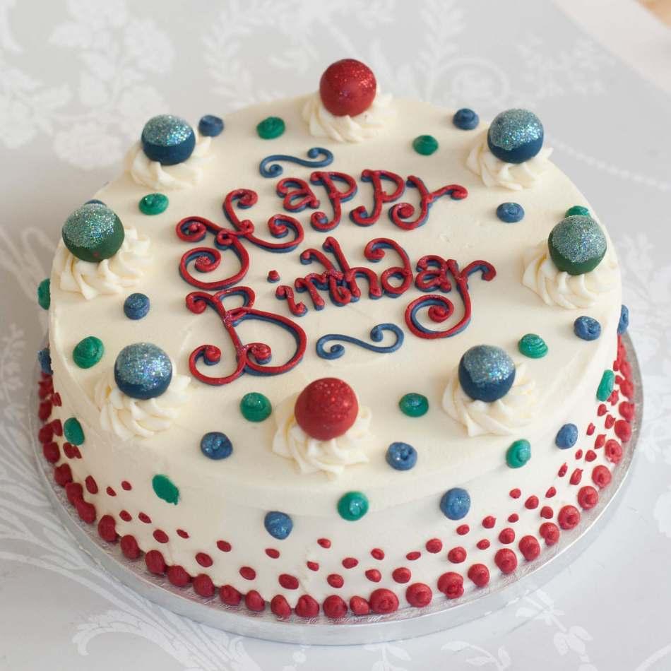 9 Buttercream Birthday Cakes For Men Photo Buttercream Birthday