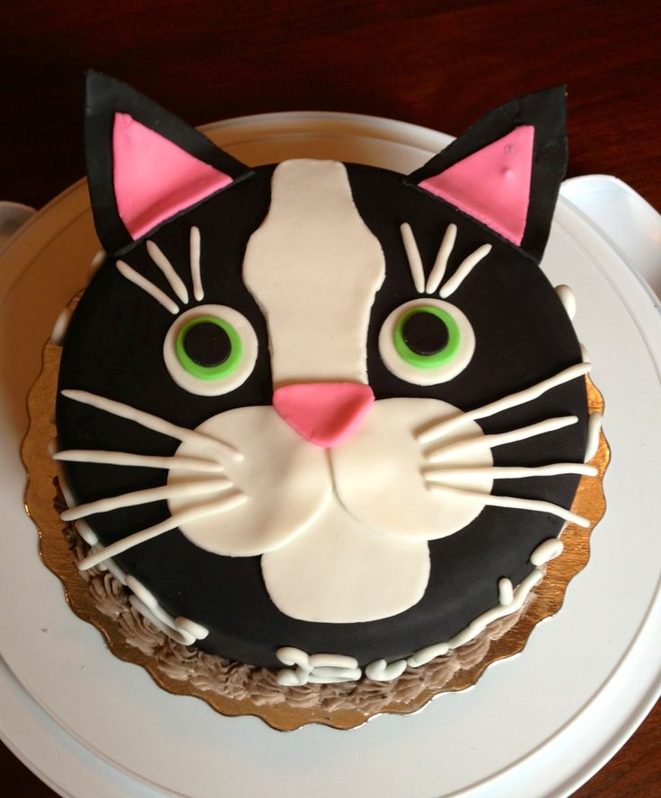 Pleasing 10 Cakes That Look Like Cats Photo Cat Birthday Cake Cat Cake Personalised Birthday Cards Arneslily Jamesorg