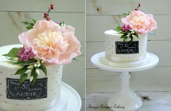 Chalkboard Birthday Cake Ideas