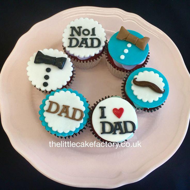 Father's Day Cupcake Cake