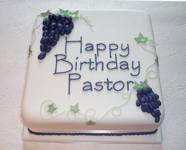 7 Funny Birthday Cakes For Preachers Photo Pastor Appreciation