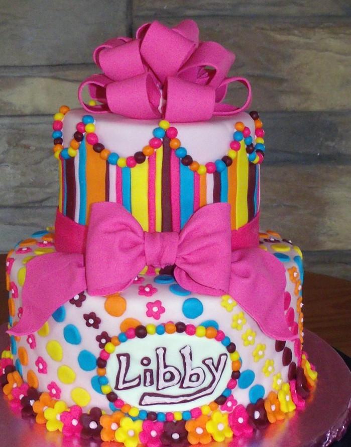 11 Beautiful Little Girl Birthday Cakes Photo Little Girls