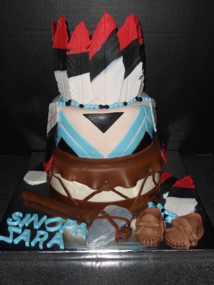 13 Native American Themed Wedding Cakes Photo Native American