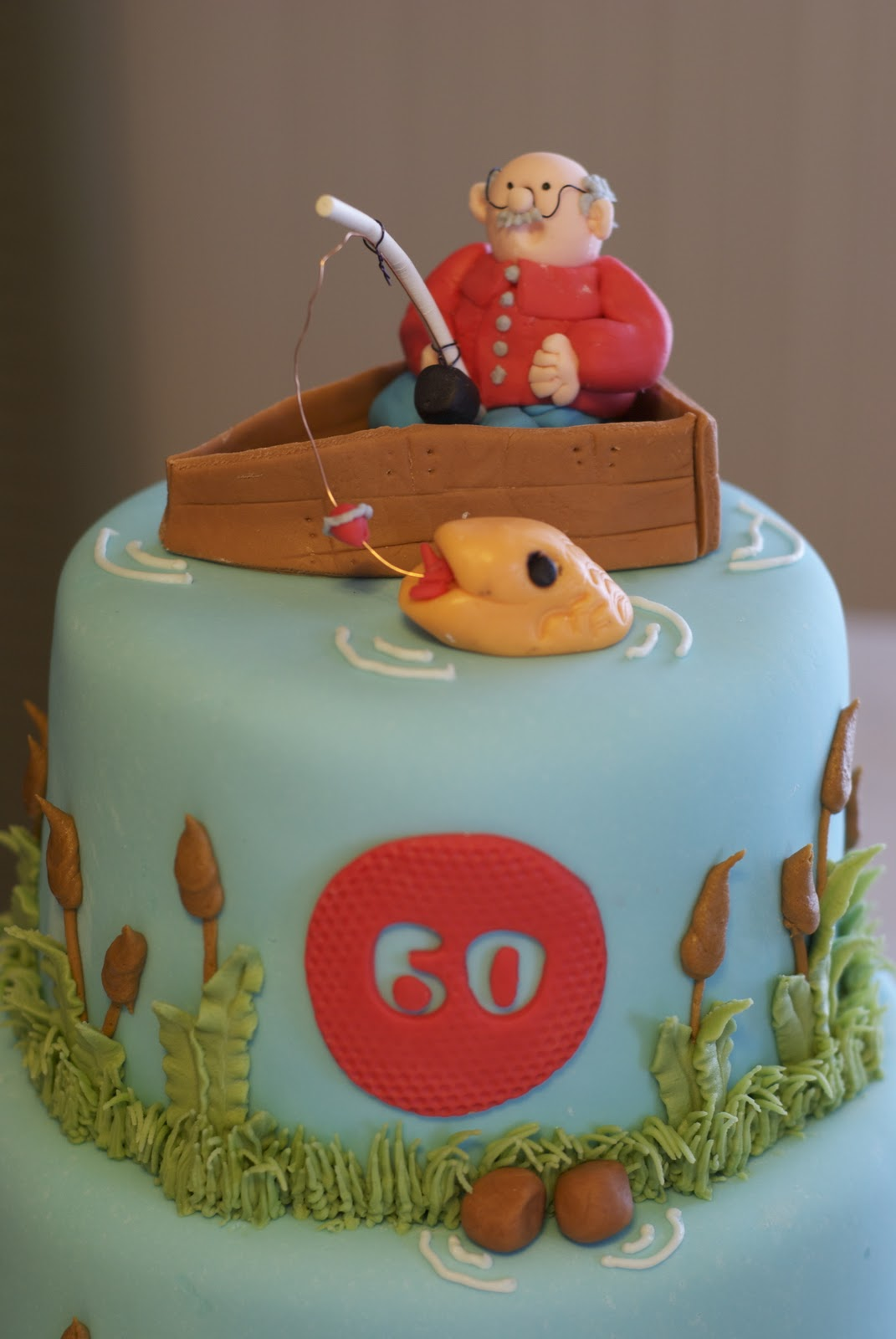 Awe Inspiring 9 Mans 60Th Birthday Cakes Fondant Photo Birthday Cakes For Personalised Birthday Cards Veneteletsinfo