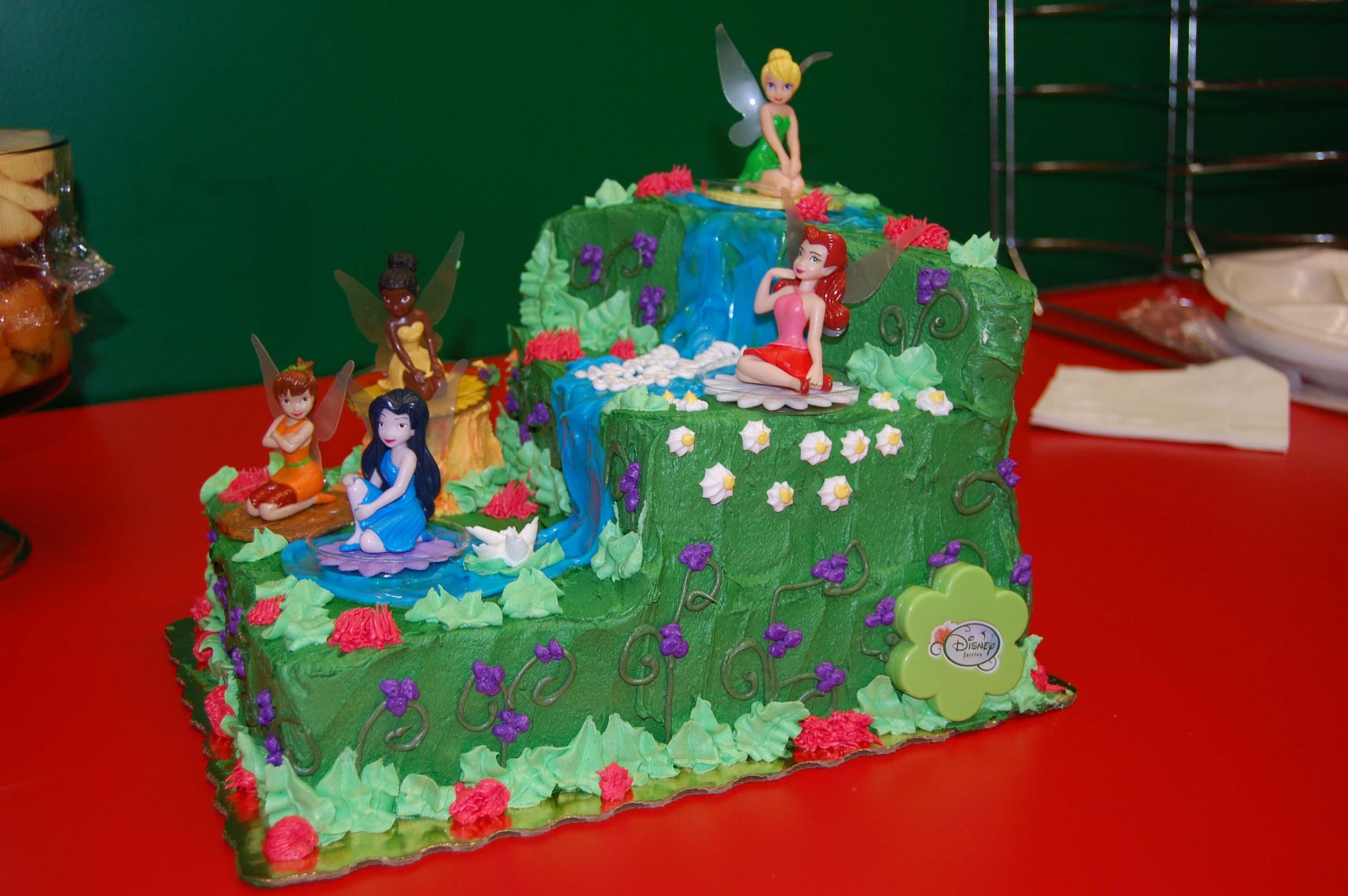 9 Tinkerbell Cakes By Publix Photo Publix Tinkerbell Cake Publix