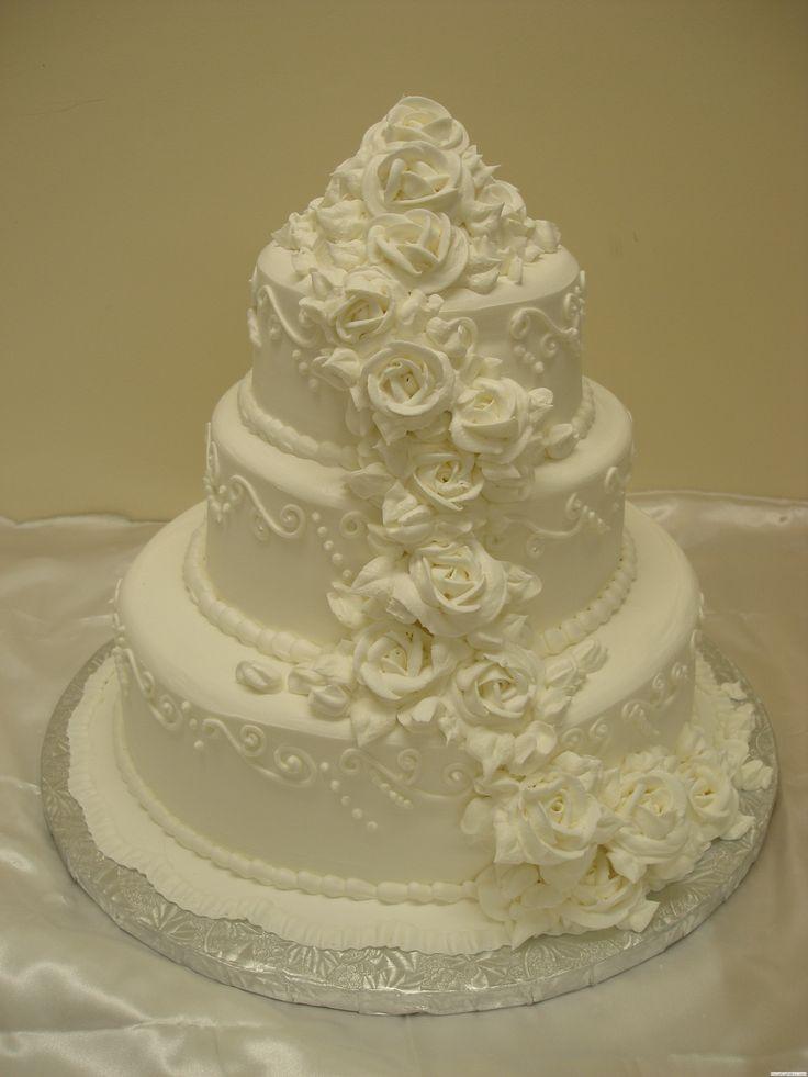Smoky Mountain Wedding Cake