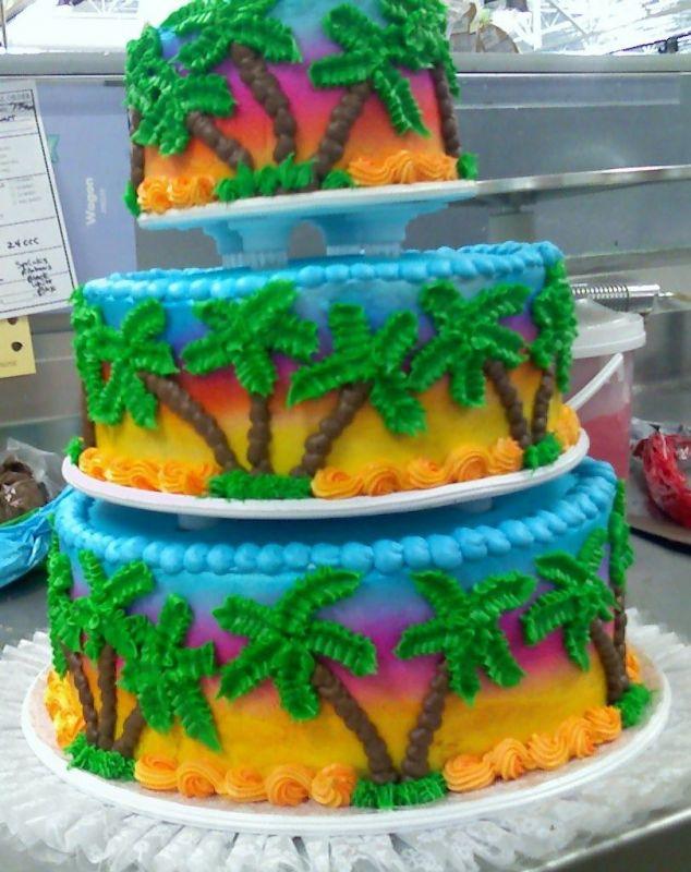 8 Island Wedding Cakes Photo Tropical Island Themed Wedding Cake