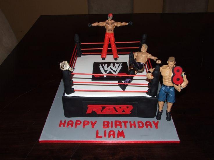 Enjoyable 13 Wwe Birthday Cakes Publix Photo Wwe Birthday Cake Wwe Funny Birthday Cards Online Inifodamsfinfo