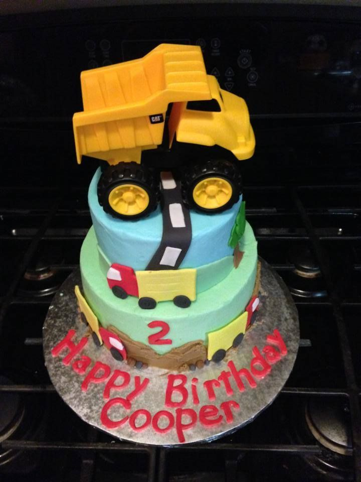 2 Year Old Boy Birthday Cake