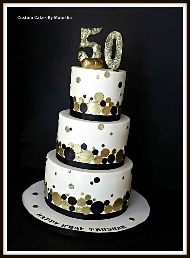 Magnificent 12 Black White And Gold For Her 35Th Birthday Cakes Photo Happy Funny Birthday Cards Online Alyptdamsfinfo