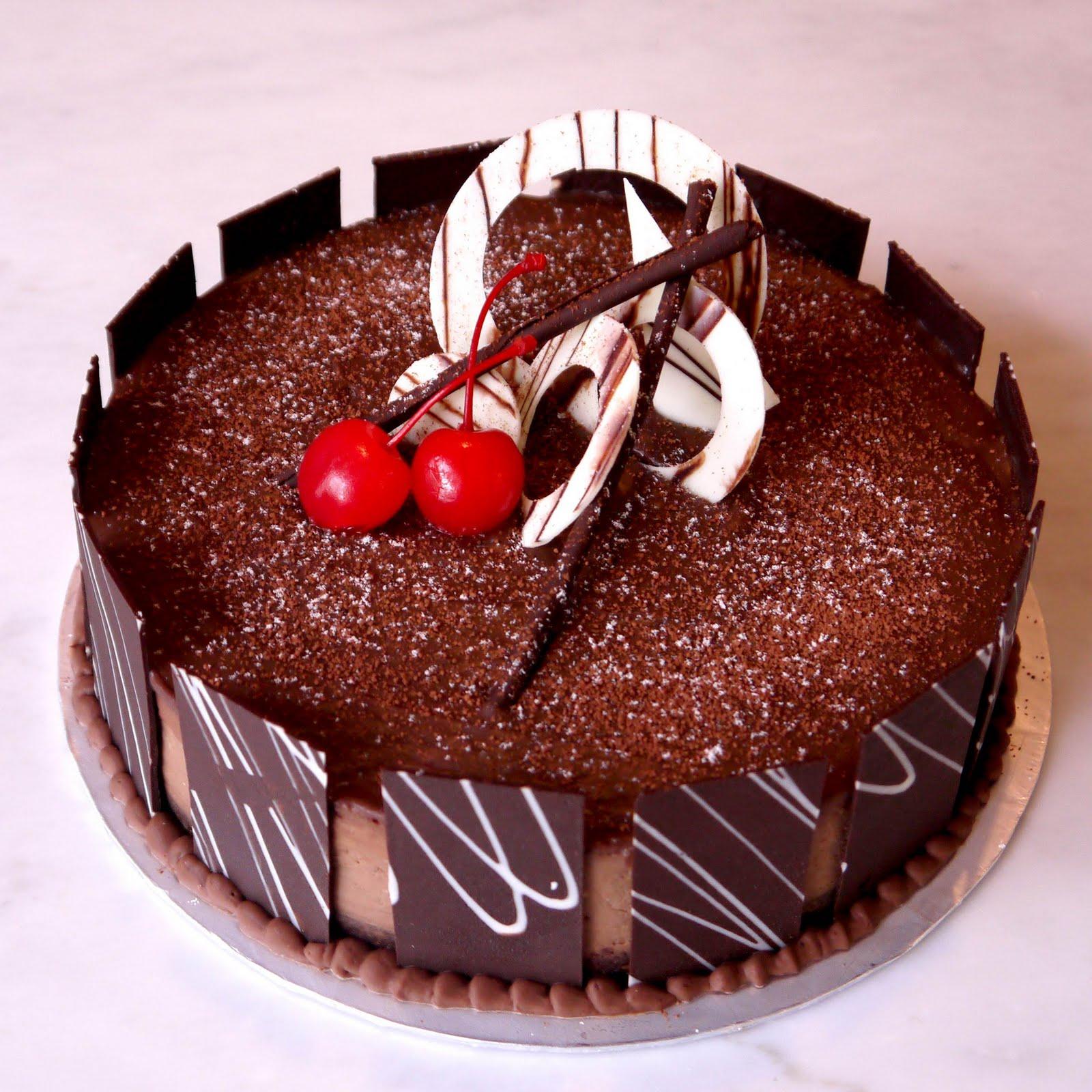 11 Cakes Beautiful Chocolate Decoration Photo Chocolate Birthday