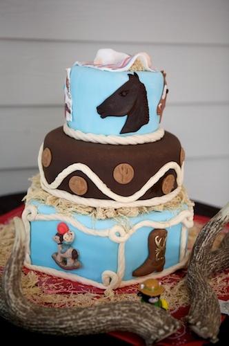 11 Bucking Horse Baby Shower Cakes Photo Cowboy Baby Shower Cake