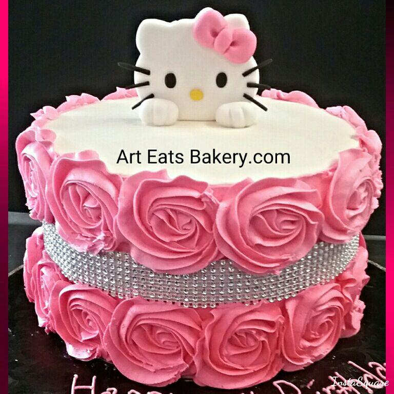 10 Elegant Birthday Cakes With Rhinestone Photo Wedding Cake With