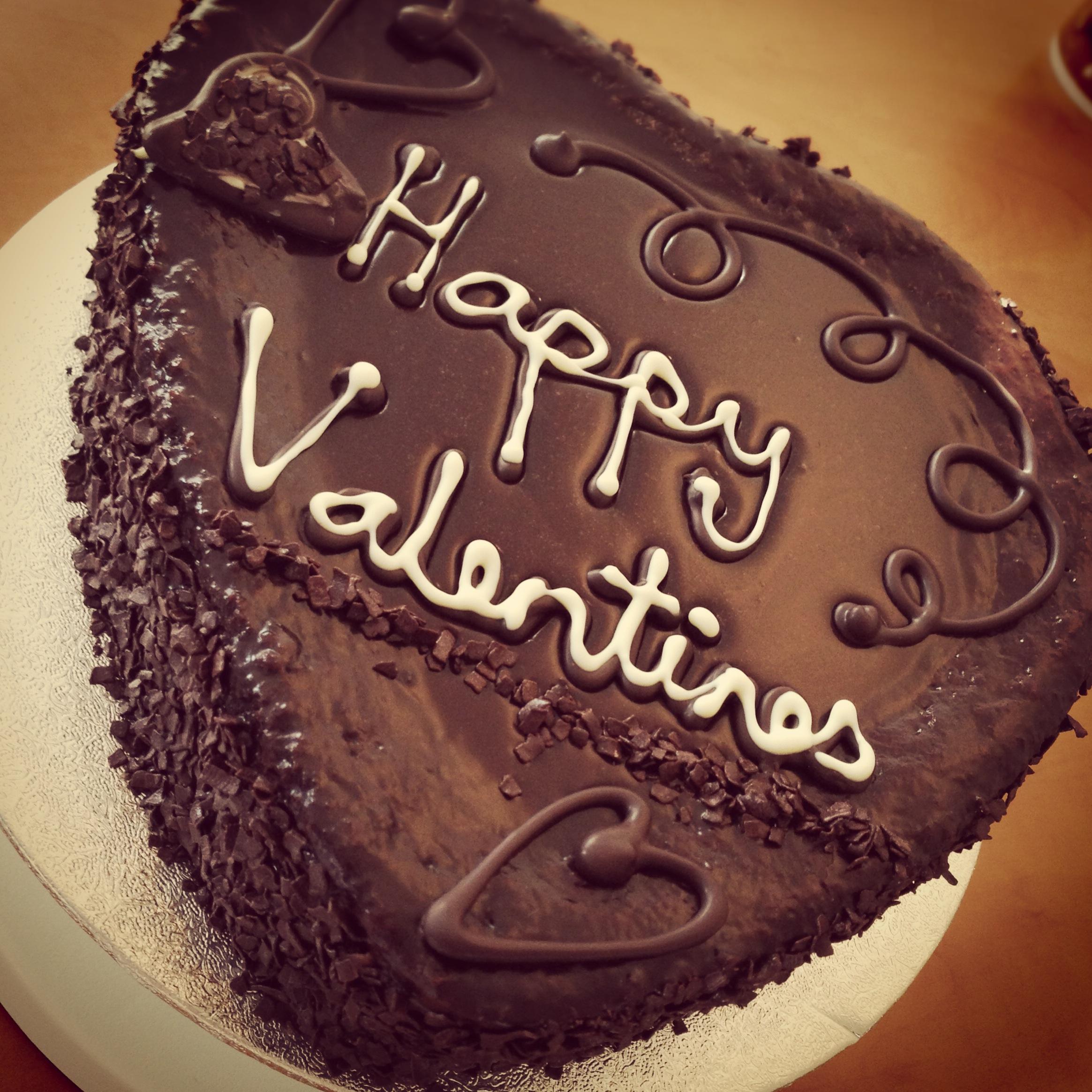 8 Chocolate Valentine Cakes Photo Happy Valentine S Day Cake
