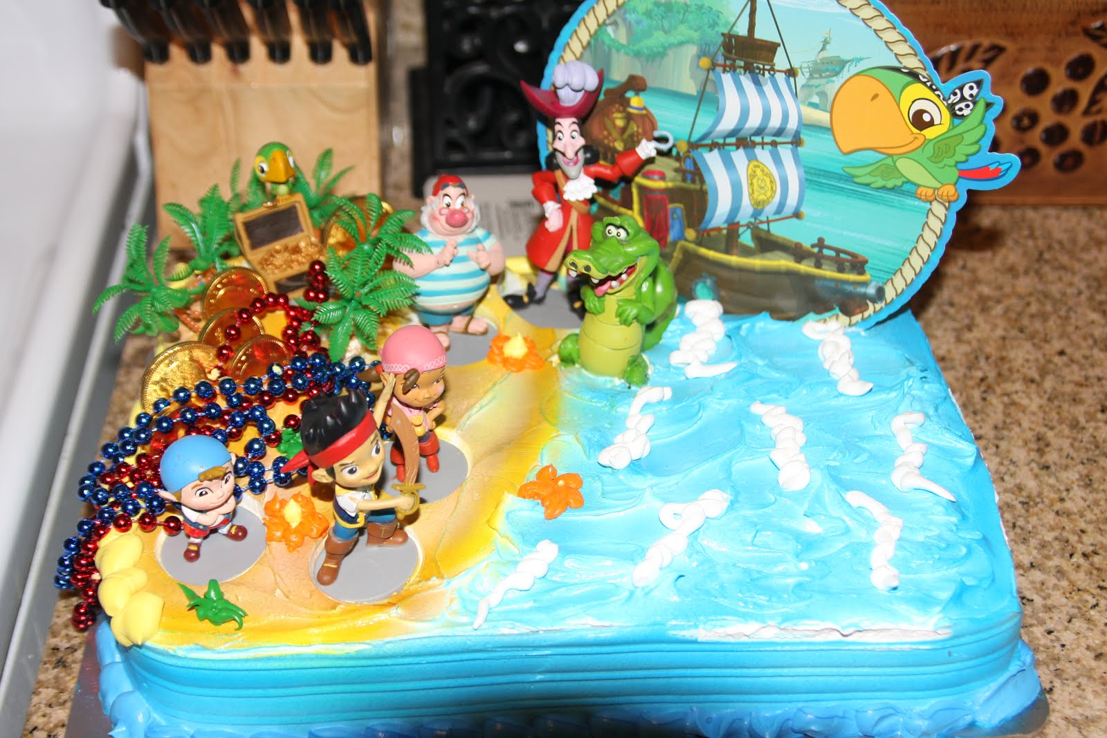 Jake And The Neverland Pirates Birthday Cake