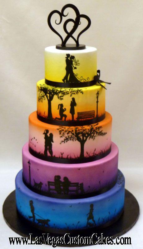 Las Vegas Wedding Cake Ideas