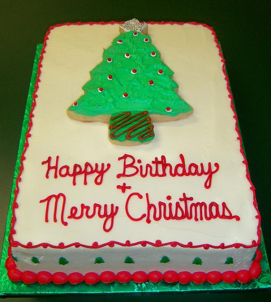 Admirable 12 Christmas Day Birthday Cakes Photo Merry Christmas And Happy Funny Birthday Cards Online Barepcheapnameinfo