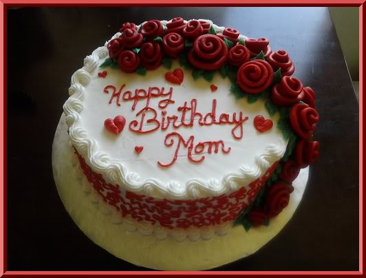 Terrific 9 Birthday Cupcakes For Mom Photo Moms Birthday Cake Adult Birthday Cards Printable Inklcafe Filternl