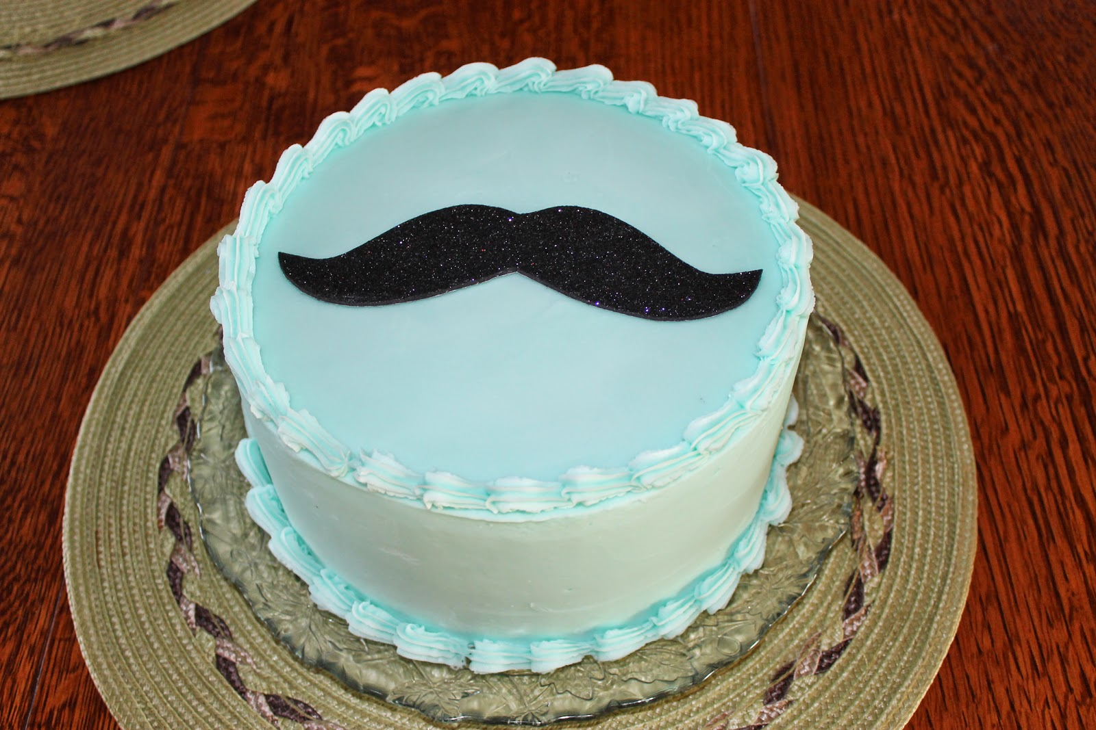 11 Simple Mustache Birthday Cakes For Girls Photo Mustache