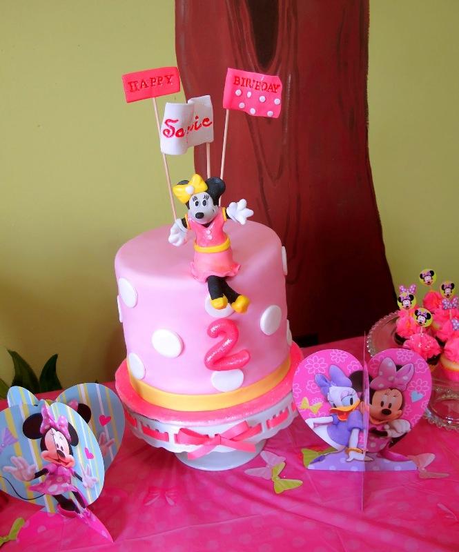 Publix Minnie Mouse Birthday Cake