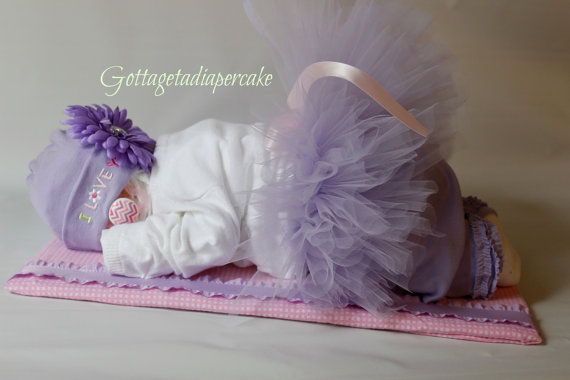 9 Sleeping Baby Diaper Cakes For Baby Shower Photo Sleeping Diaper