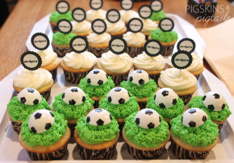 40 Soccer Cupcakes Decorating Ideas Photo Soccer Ball Cake Gorgeous Soccer Ball Decorations Cupcakes