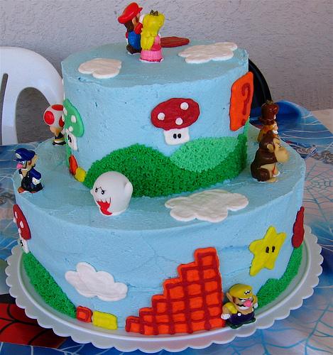Excellent 10 Mario Theme Birthday Cakes Boys Photo Mario Kart Birthday Personalised Birthday Cards Petedlily Jamesorg