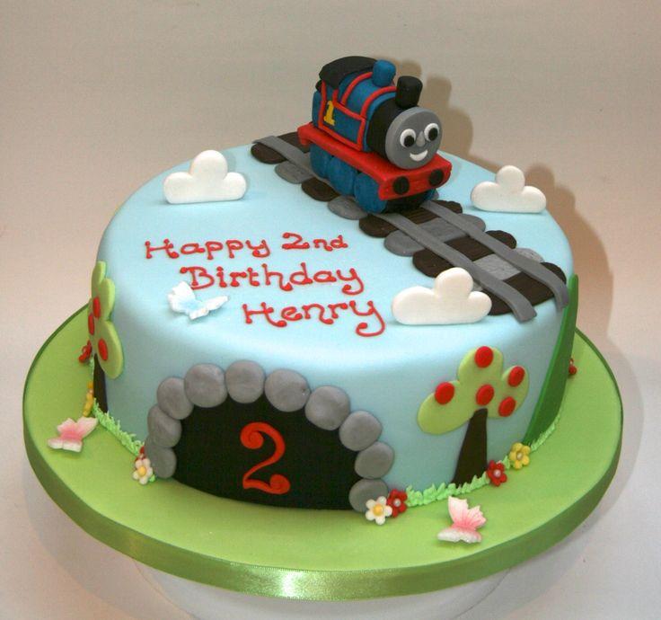 9 Thomas The Engine Cakes Photo Thomas The Train Birthday Cakes