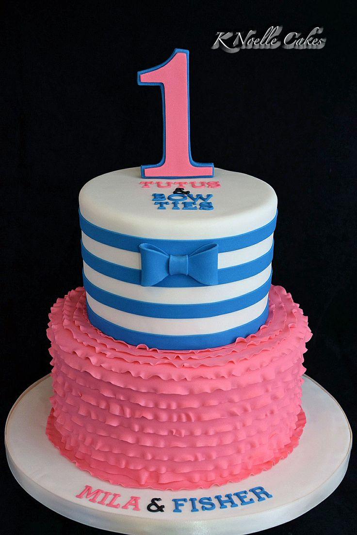 12 Little Twin Boys Birthday Cakes Photo Twin Boys 1st Birthday
