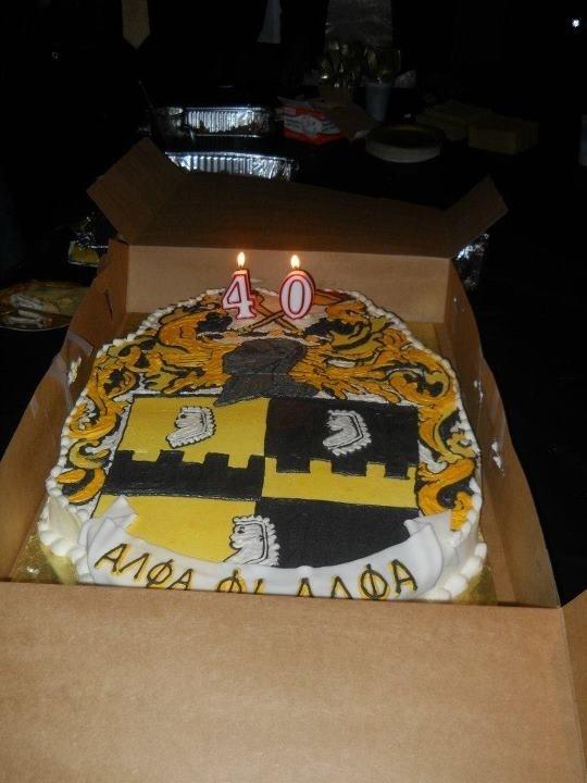 Wondrous 12 Fraternity Birthday Cakes Photo Greek Mythology Birthday Cake Funny Birthday Cards Online Elaedamsfinfo