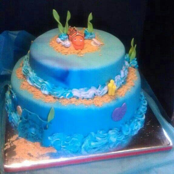 13 Nemo Baby Shower Cakes Photo Finding Nemo Themed Baby Shower