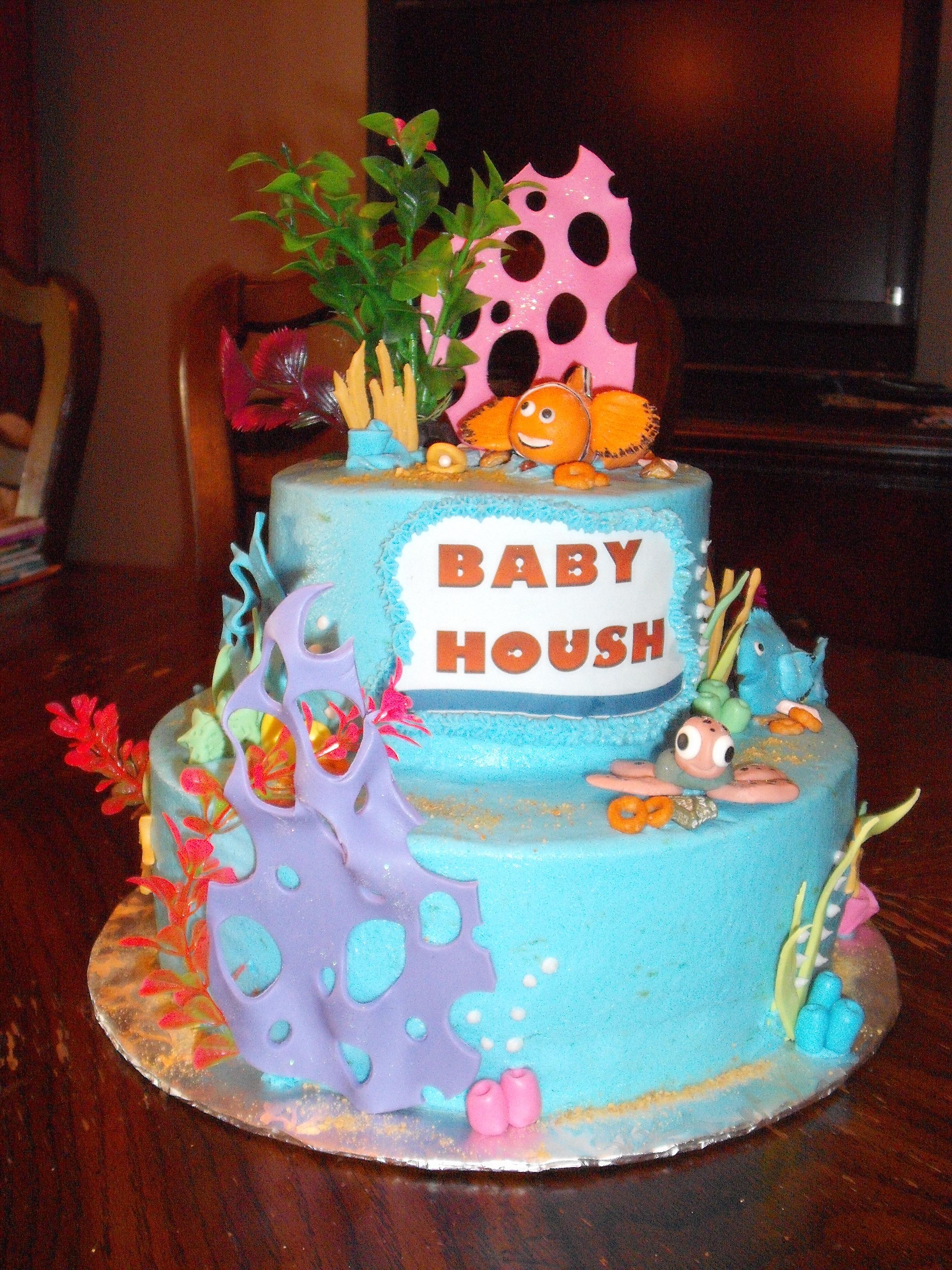 Finding Nemo Baby Shower Cake Finding Nemo Baby Shower Cake Cake