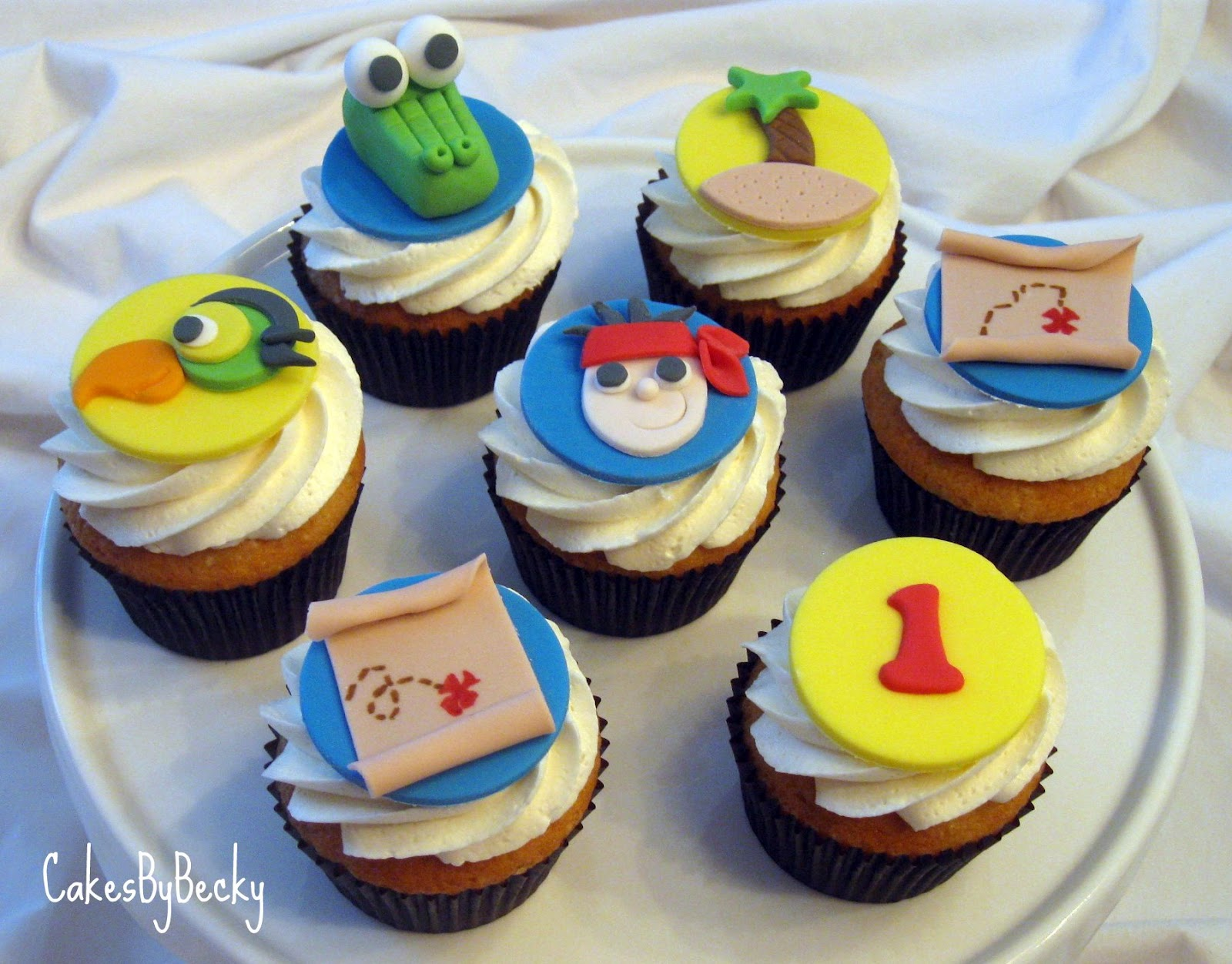 12 Jake Birthday Party Cupcakes Photo Jake And The Neverland