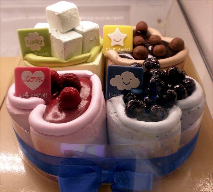 Pleasant 6 Korean Pastries And Cakes Photo Korean Birthday Cake Korean Funny Birthday Cards Online Elaedamsfinfo