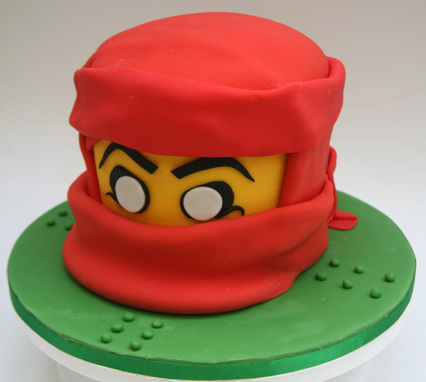 9 Ninjago Kai Cakes Photo Ninjago Kai Birthday Cake Ninjago Kai