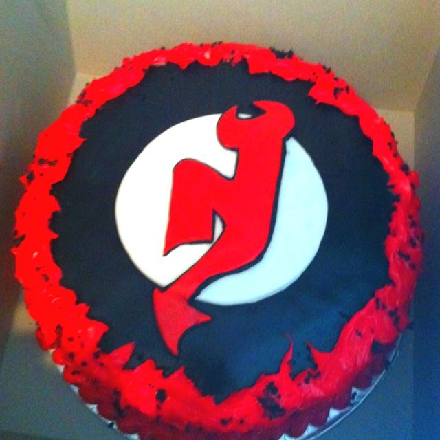 New Jersey Devils Birthday Cake