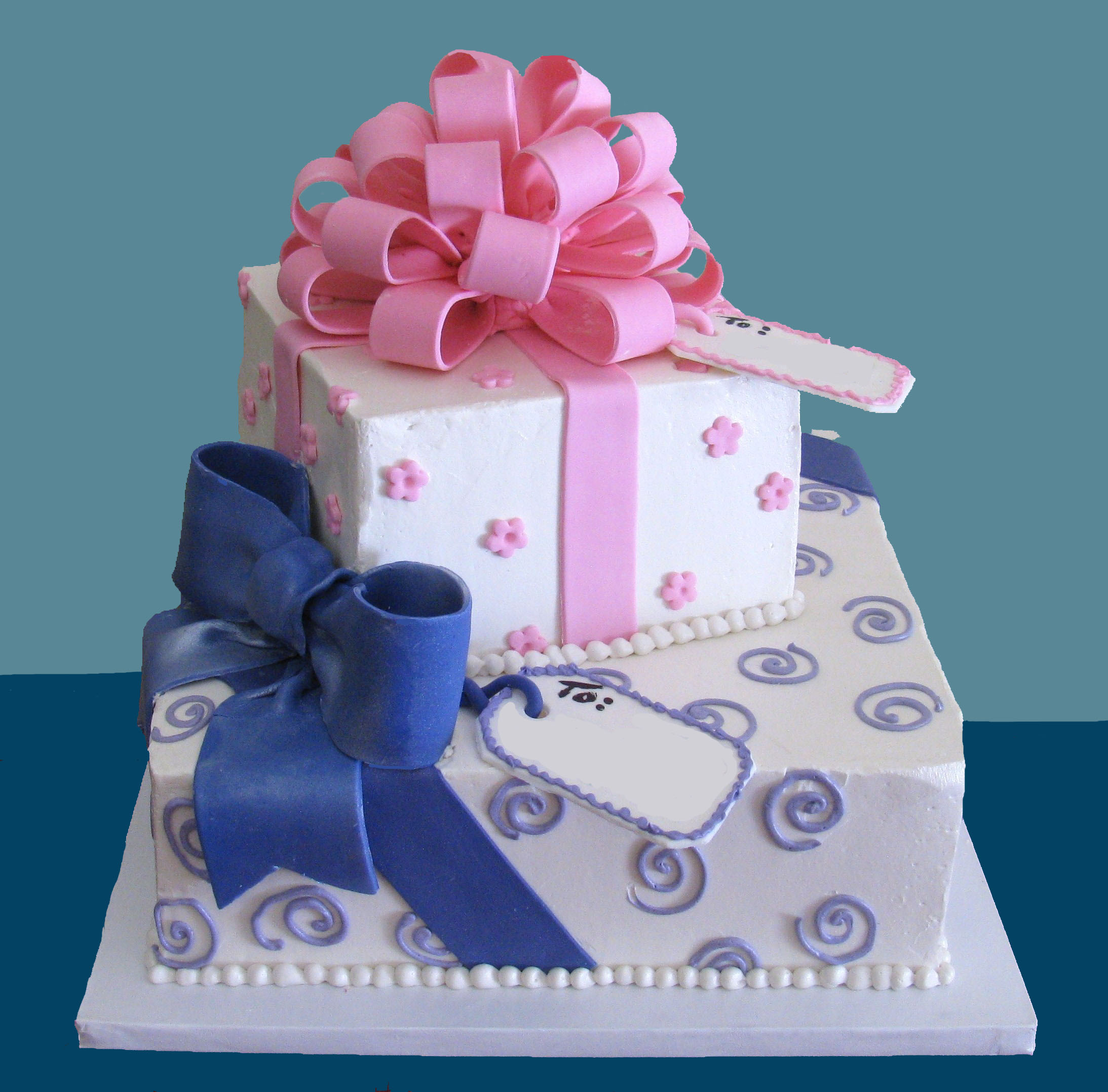 Cool 10 Birthday Cakes For Girls Gift Photo Gift Box Present Stacked Funny Birthday Cards Online Chimdamsfinfo