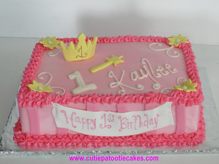 11 Princess Sheet Cakes For Girls Photo Princess Sheet Cake